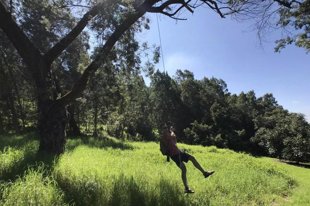 Maui O'o Farm Rope Swing