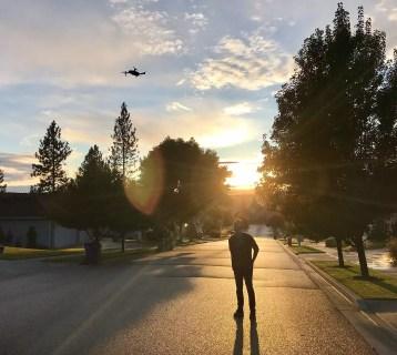 Dom with Mavic Pro Drone
