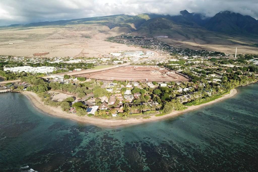 Maui Baby Beach Aerial