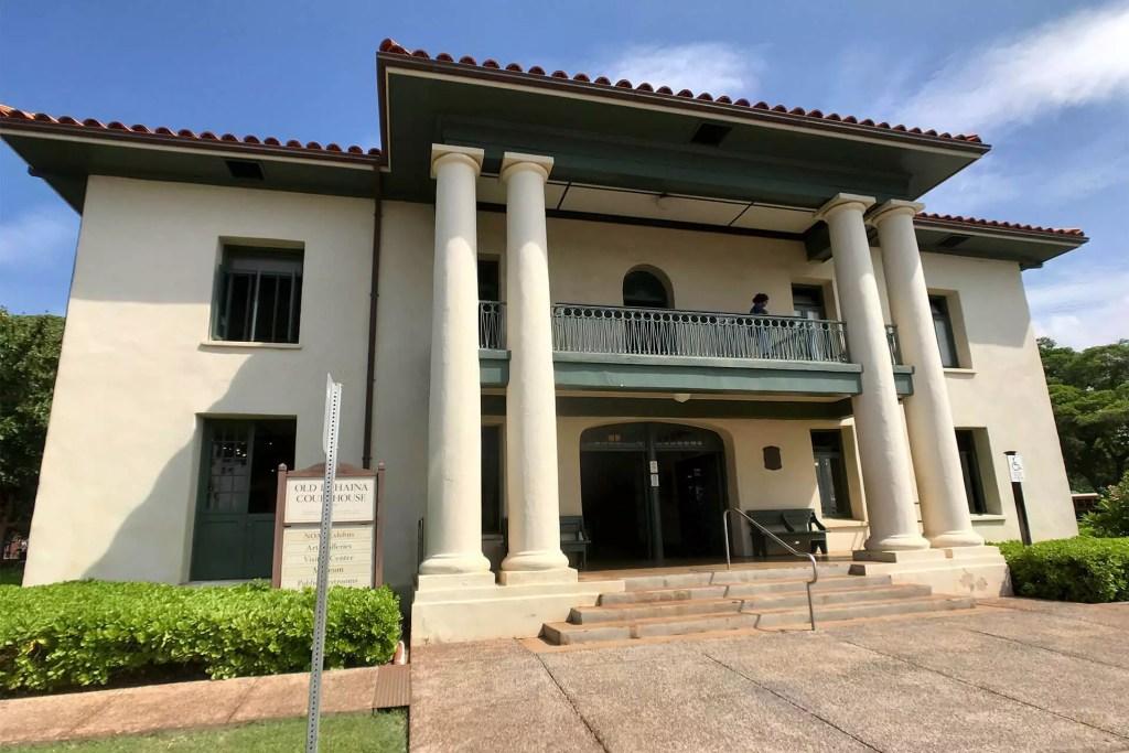 Maui Lahaina Courthouse