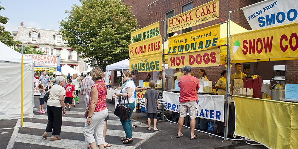 Doylestown farmers market bucks county pa autos post for Craft shows in bucks county pa