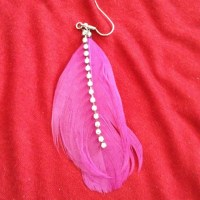 100% off icing Jewelry - 2 pair of feather ICING earrings ...