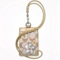 Small Handbags: Coach Badge Holder