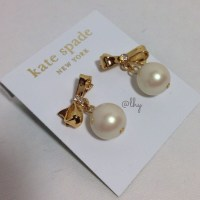 19% off kate spade Jewelry - Kate Spade Pearl Drop Bow ...