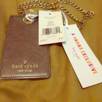 8% off kate spade Accessories - Rare Kate Spade ID holder ...