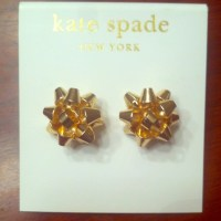 Kate Spade INSPIRED Bourgeois Bow stud earrings OS from ...