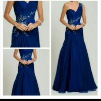 Camille La Vie Dresses | Royal Blue Prom Dress | Poshmark