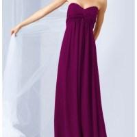 44% off Dresses & Skirts - David's Bridal Sangria Chiffon ...