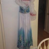 55% off cachet Dresses & Skirts - Blue Cachet prom dress ...