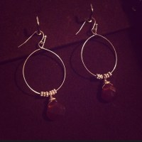 50% off Versona Jewelry - Gold and amber earrings from ...
