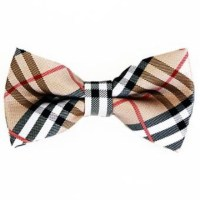 Burberry style bow tie for boys or men OS from Lisy's ...
