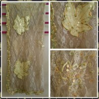 83% off Accessories - 4 fancy sequin shawls scarves from ...