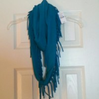 45% off Wet Seal Accessories - Fringe infinity scarf from ...