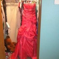Dresses & Skirts | Watermelon Colored Prom Dress | Poshmark