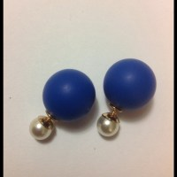 35% off Jewelry - Tribal Dior style earring, double sided ...