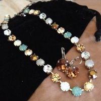 68% off Sabika Jewelry Classics Choker And Drop Earrings ...