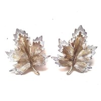 Vintage Jewelry - Vintage Sarah Coventry Maple Leaf Earrings
