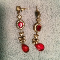 Indian inspired earrings OS from Nandini's closet on Poshmark