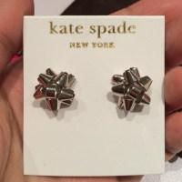 kate spade - NWT Kate Spade Bourgeois bow earrings from ...