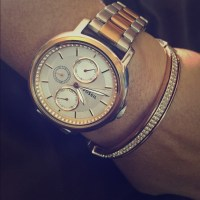 Fossil Accessories | BUNDLED Rose GoldSilver Watch ...