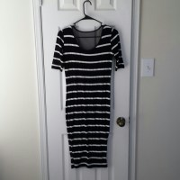 40% off Dresses & Skirts - Mid calf length black and white ...