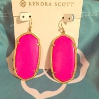 17% off Kendra Scott Jewelry - Kendra Scott hot pink ...