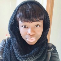 Wet Seal - Black infinity scarf from Angel's closet on ...