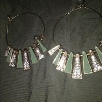 Versona Jewelry | Hoop Rhinestone Earrings | Poshmark