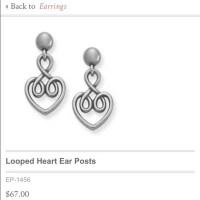 69% off James Avery Jewelry - James Avery heart dangle ...