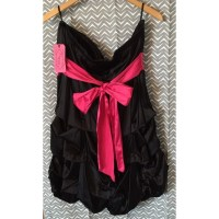 68% off Dresses & Skirts - Size 20W, Black with pink ...