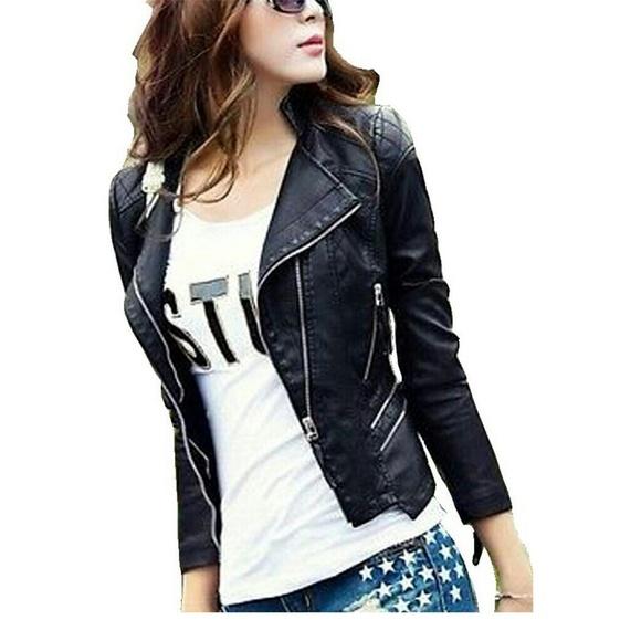 Beautiful Black Leather Jacket