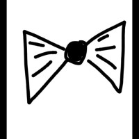 Bow ties and bling - Bow ties for guys made to order black ...