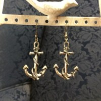 Forever 21 - Anchor earrings from * virginia *'s closet on ...