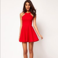 73% off ASOS Dresses & Skirts - Little Red Dress Size 4 ...