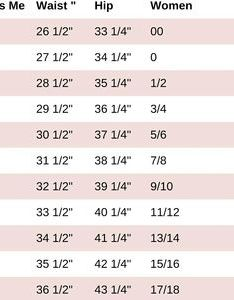 Miss me size chart also women   jean on poshmark rh
