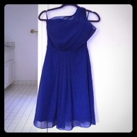 83% off Dresses & Skirts - Royal blue semi-formal dress ...
