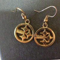 Steelers earrings OS from Teresa's closet on Poshmark