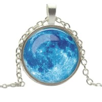 Blue moon necklace OS from Abbey's closet on Poshmark