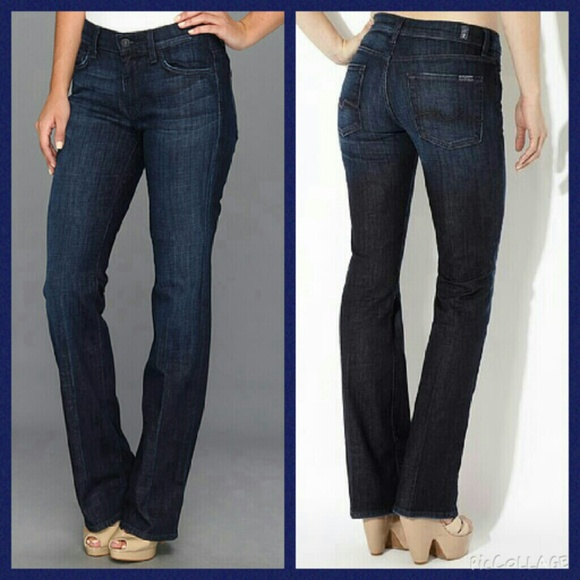 Wedge Shoes Bootcut Jeans