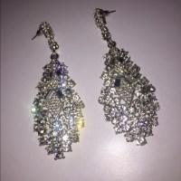 63% off Versona Accessories - Diamond Versona Earrings ...