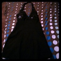 89% off Masquerade Dresses & Skirts - Lg Black Sparkly ...