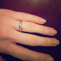 62% off Zales Jewelry - Zales infinity ring with diamonds ...