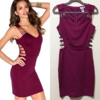 68% off Body Central Dresses & Skirts - Magenta Pink ...