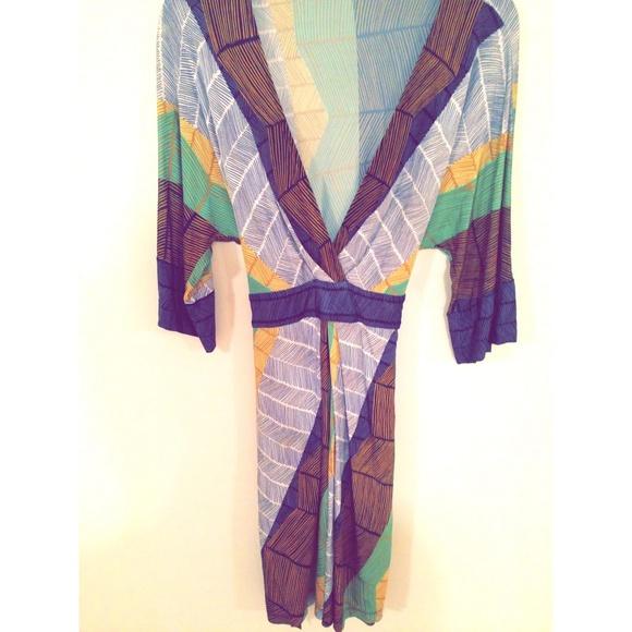 BCBG Dresses - Bcbg Kimono Dress