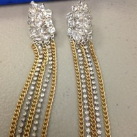 73% off BCBG Jewelry - Bcbg dangling earrings from Allie's ...