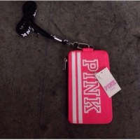 PINK Victoria's Secret - VS PINK ID card holder lanyard ...