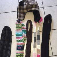 82% off Old Navy Accessories - Scarves and hat from Monica ...