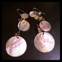 84% off BCBG Jewelry - BCBG shell earrings from Meaghan's ...