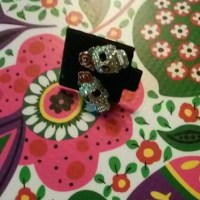 red rose sugar skull stud earrings OS from Mel's closet on ...