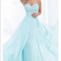 36% off Dresses & Skirts - 2015 prom dress. (Aqua blue ...